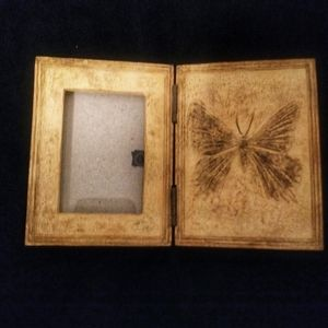Other - Butterfly 3 x 4 Picture Frame